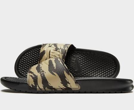 Slider Braun Benassi 200 Nike Aq5060 Aop Beige – qTHwOI