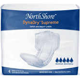 NorthShore DynaDry Supreme Liners, X-Large, Pack/28