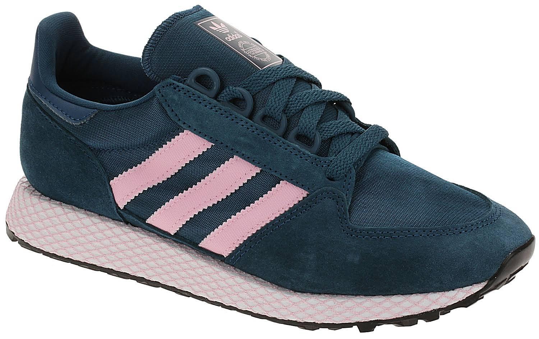 shoes adidas Originals Forest Grove - Tech Mineral/True Pink/Core Black - women ́s 40