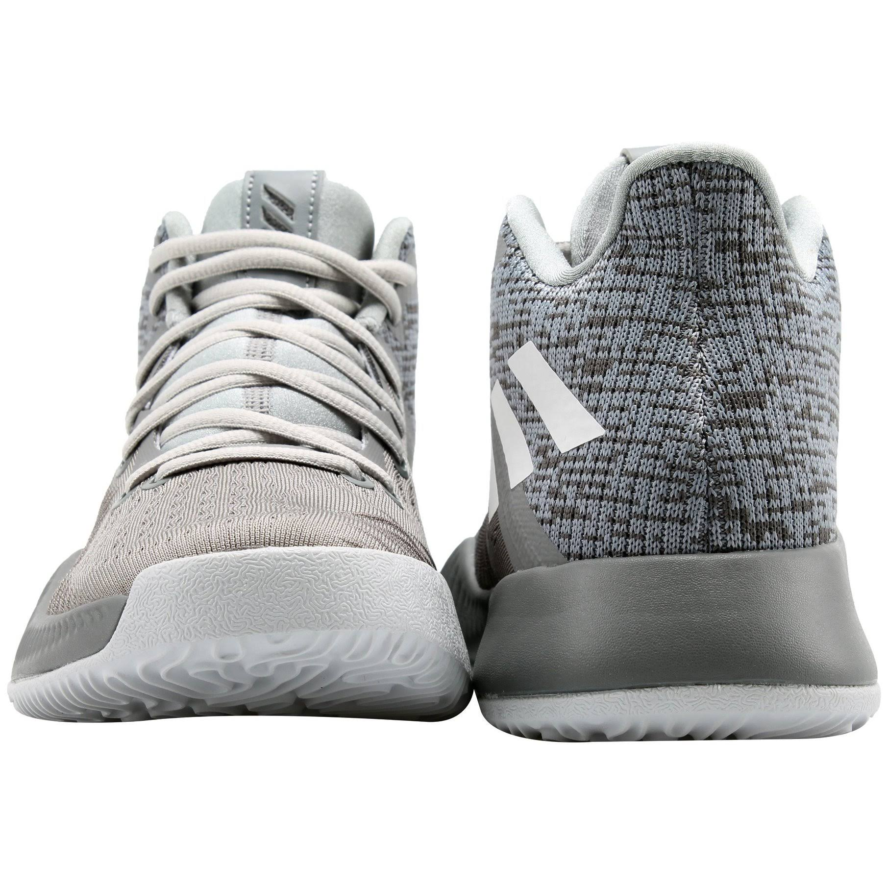 5 Adidas Bounce Da9781 Grey Weiß Herren Vier Mad Größe 11 Basketballschuhe Grau Three TrHTw