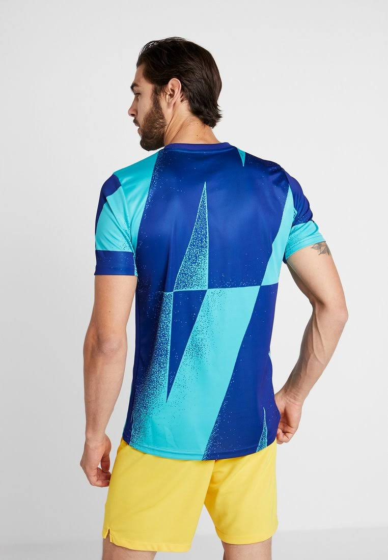 Barcelona 2019-2020 Pre-Match Dry Training Shirt (Cabana) by Teamzo