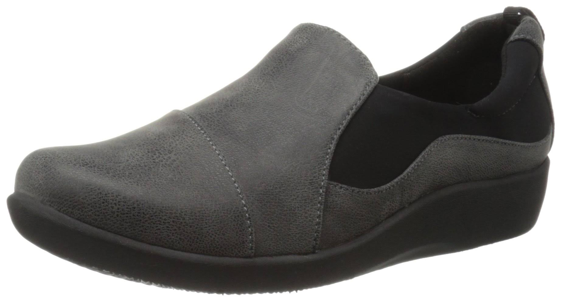 Donna Loafer Sillian Grigio Synth Clarks Casual Paz NwX80OknP