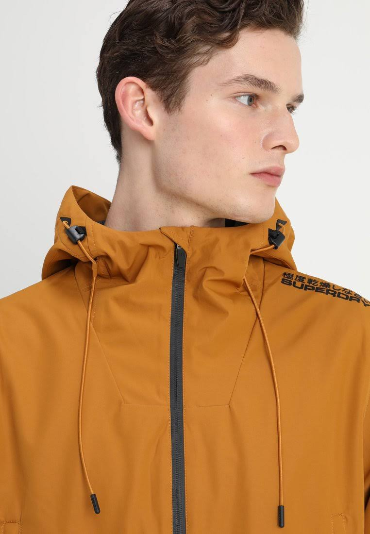 Hooded Windcheater Mustard Yellow L Superdry Elite 7qwEZI0