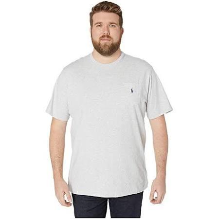 Klassisch Lt Lauren Smoke Ralph Polo T shirt Für Geschnitten Heather Männer Und 2lt Groß Hoch Pz55q7Zx