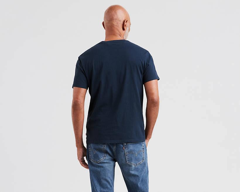 Levi's shirt Kleid Herren T Classic Logo Xs Graphic Blues Heritage rqTrZ