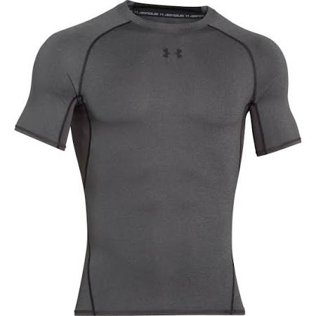 Gray Carbon shirt Heather S Compression Armour Under T Heatgear xXqC16XwT