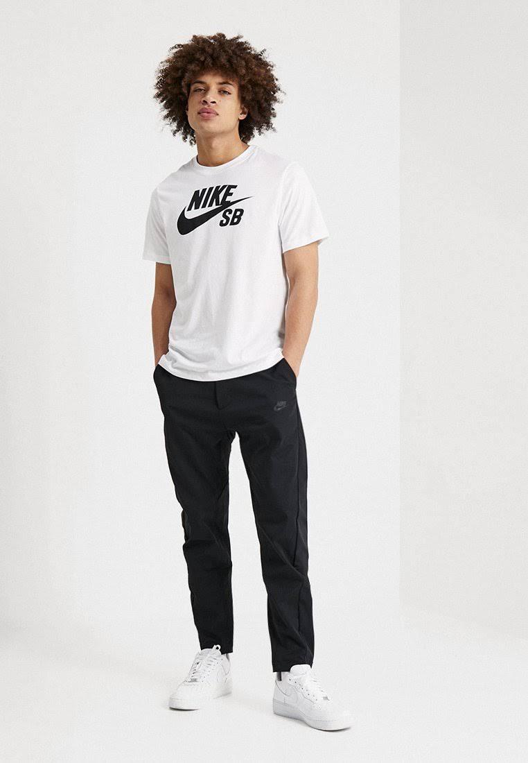 Nike SB Dri Fit T Shirt - White/Black  arsljCE