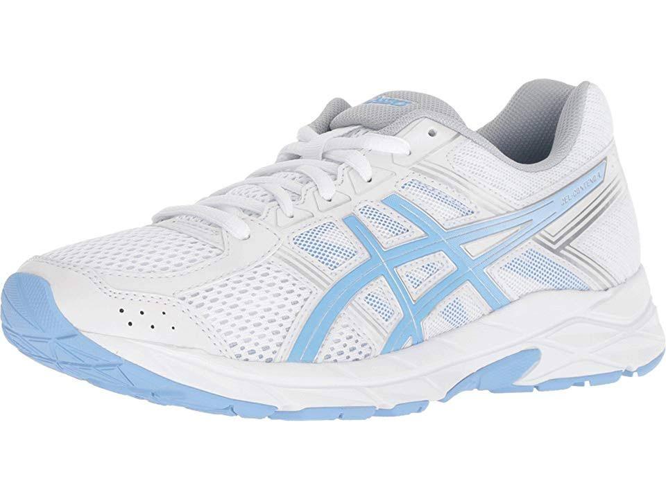 Blanco 4 De 5 7 contend Gel Mujer Tamaño Para Asics Zapatillas Running wfXqxZPX