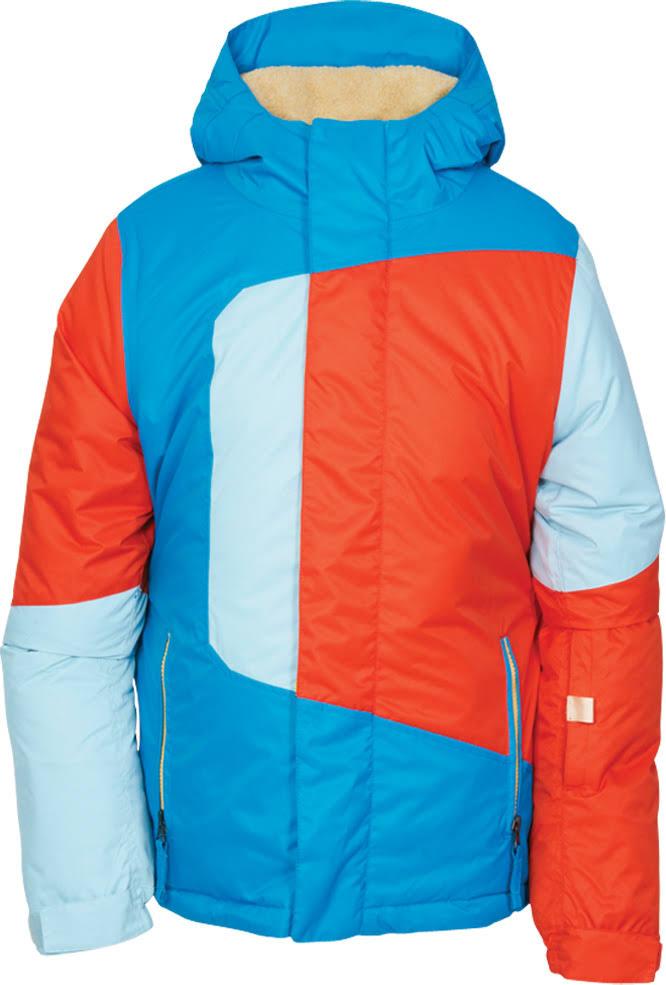 Blaze Azul De 686 Aislamiento Colorblock Con Chaqueta Snowboard Ovq00I