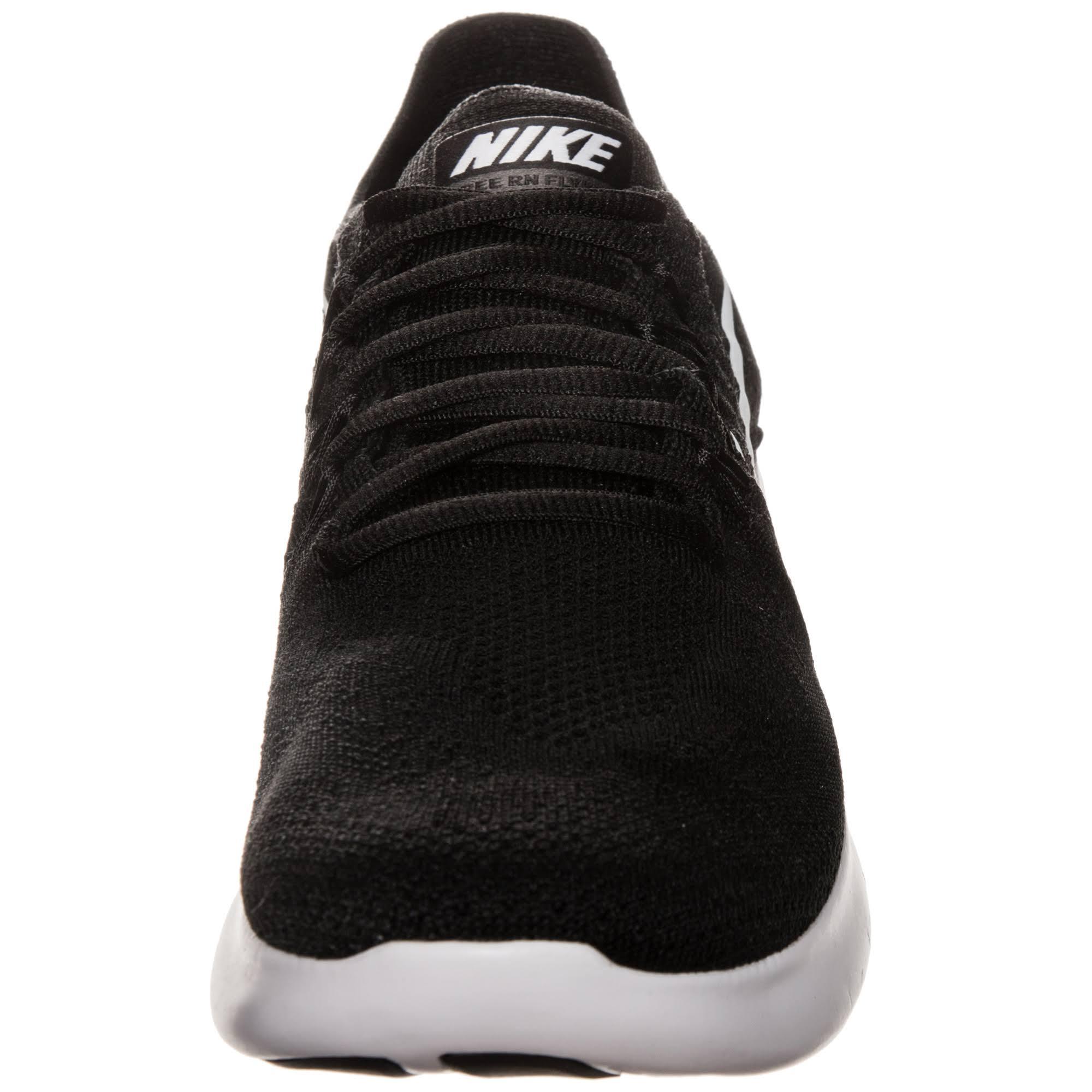 880843 Schwarze 001 Nike Sneaker Flyknit Run – Running Free white Black black O4OqwxX0f