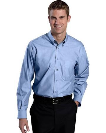 Edwards down Bügelfreies Oxford Button Herren kragen Businesshemd r4avw06rqp