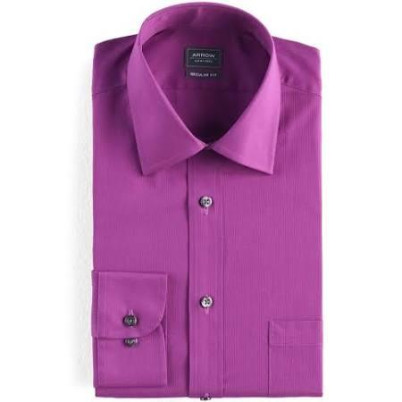 2x Purple Festes Strukturiertes 34 Drk Herrenpfeil Fit Regular 35 Businesshemd Purple Deep wqn4P0
