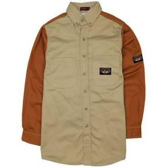 Rasco Khaki Large Shirts Dress brown Herren Duck Beige Größe Fr rqnSxrwgFC