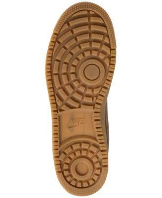 Winter Hombre Borough Goma Nike Para Trigo Brown Baloncesto De Light Mid Court Zapatillas Negro q8IYUw18