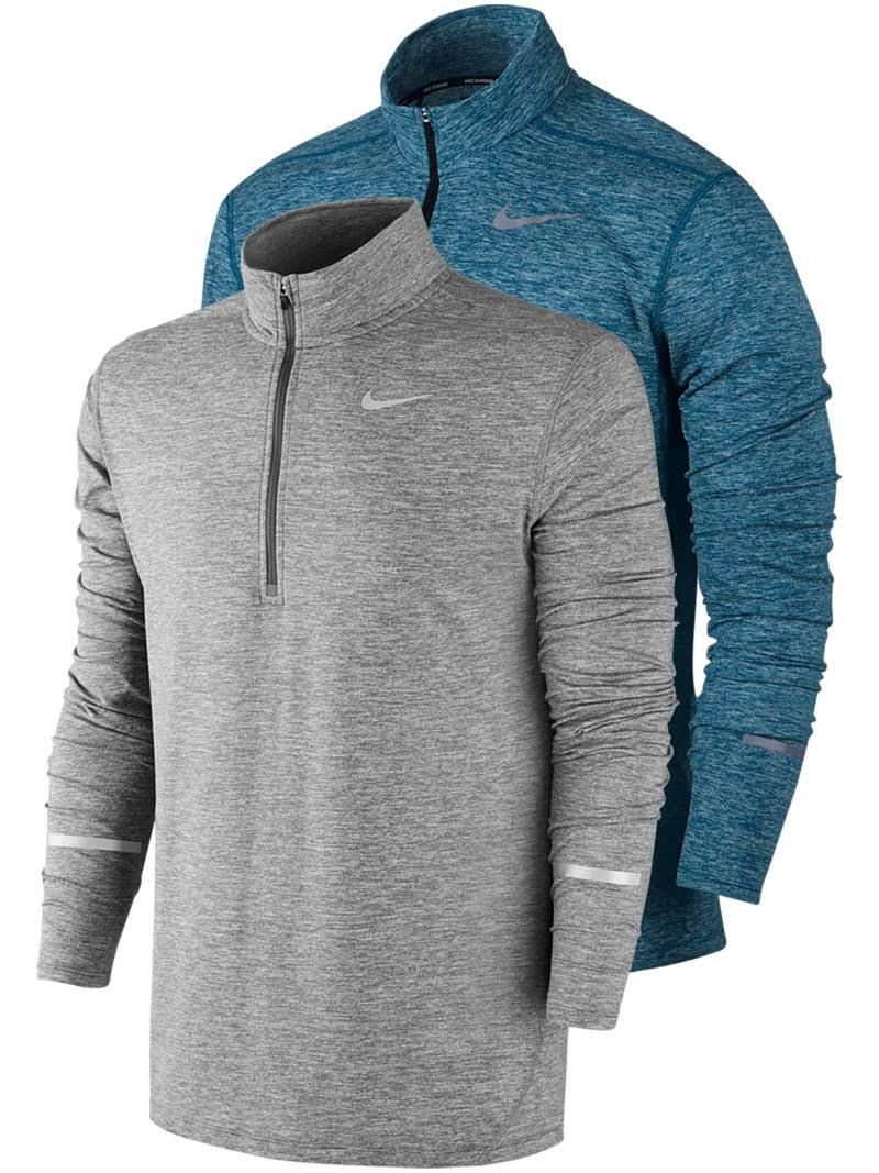 Element Nike De Camiseta Dry Gris Para Running Hombre fIqBqpU