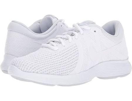 De 4 Revolution B Mujer Zapatillas Mediano Blanco Running 6 Para Platino Puro Nike d5tqP15