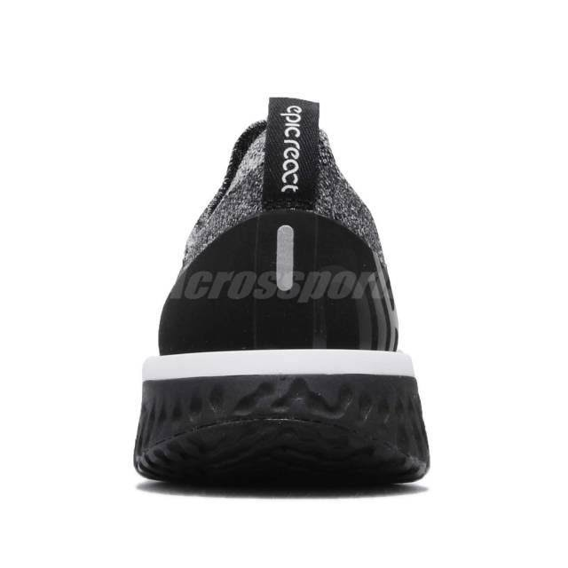 Running Epic Nike Mujer Zapatillas Blanco Negro Para React Flyknit De P46drx6Xn