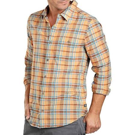 Libre Mango Cuba Orange Ls Herren Hemd amp; Medium Toad Co wIOqTnC