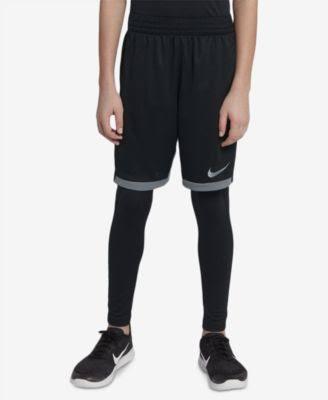 Pantalones Gris Escuela M Primaria Para Trophy Oscuro Nike 939655021 Niños Cortos Tamaño 66xnOH
