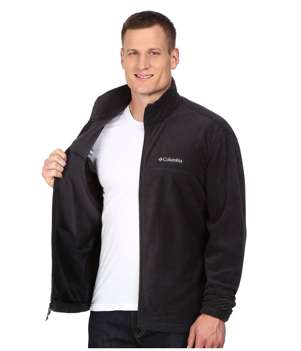 Columbia Full Tall 1476673 Steens Mountain Lt Regular Zip Schwarz Herren w6qtPrngAw