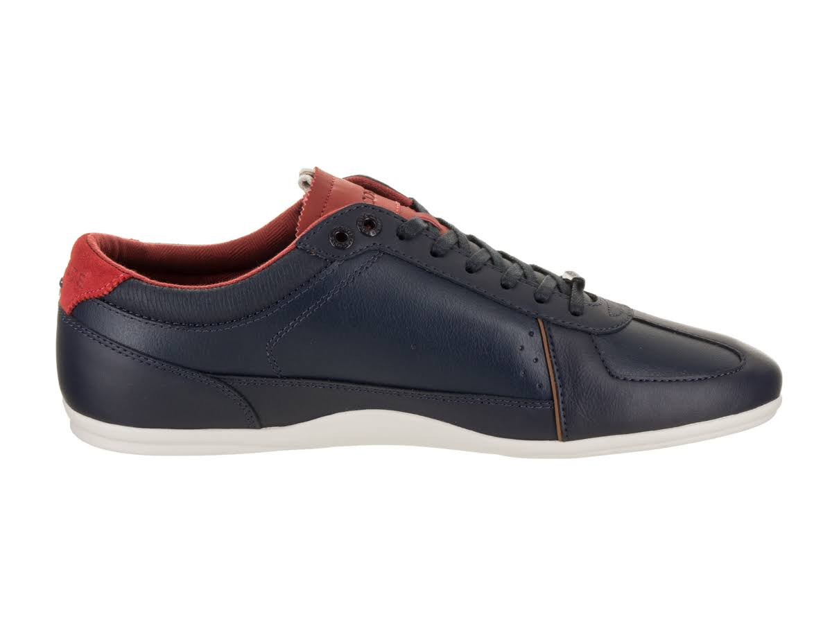 red 736cam0024 Navy 2 Men's 318 navy Evara red Lacoste Sneaker FaPzZw