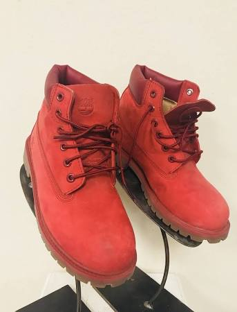 Timberland Us Buty Classic Rozmiar 6in Youth 3 Shearling Red rqHwBrg6