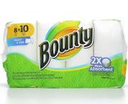 Bounty Select A Size Paper Towels 8 Big Rolls - 704 sh