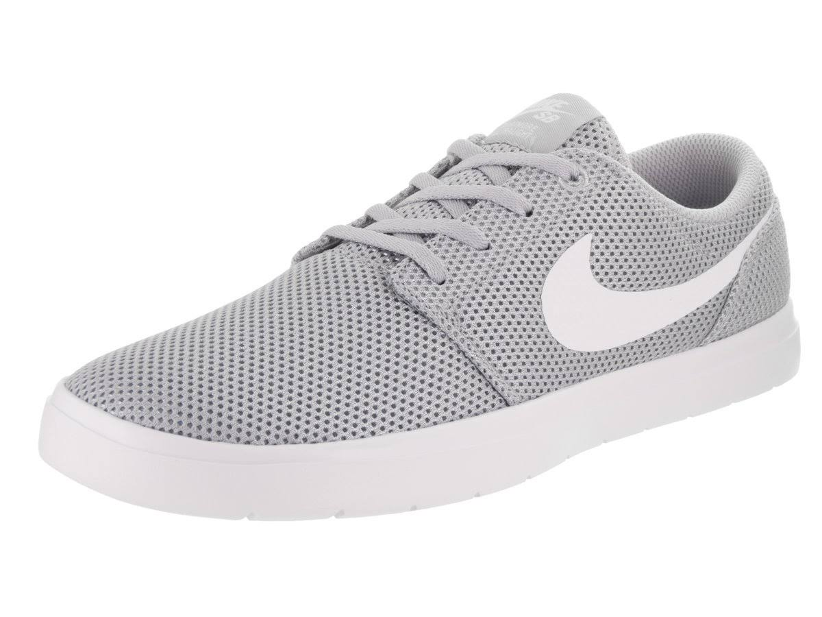 Ultralight white Ii Portmore Wolf Grey Nike Shoe Sb Size Men's 12 qAfFnSW