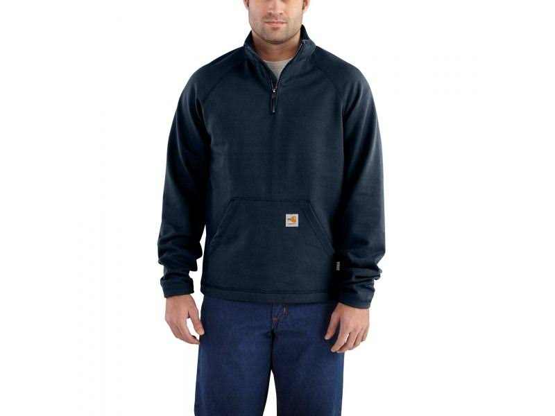 A Llamas 410 Qtr 2xl Rugged Carhartt Zip Force Fleece tll Las 101576 Dark Navy Resistente 2xl Tall Flex qCgwpt5