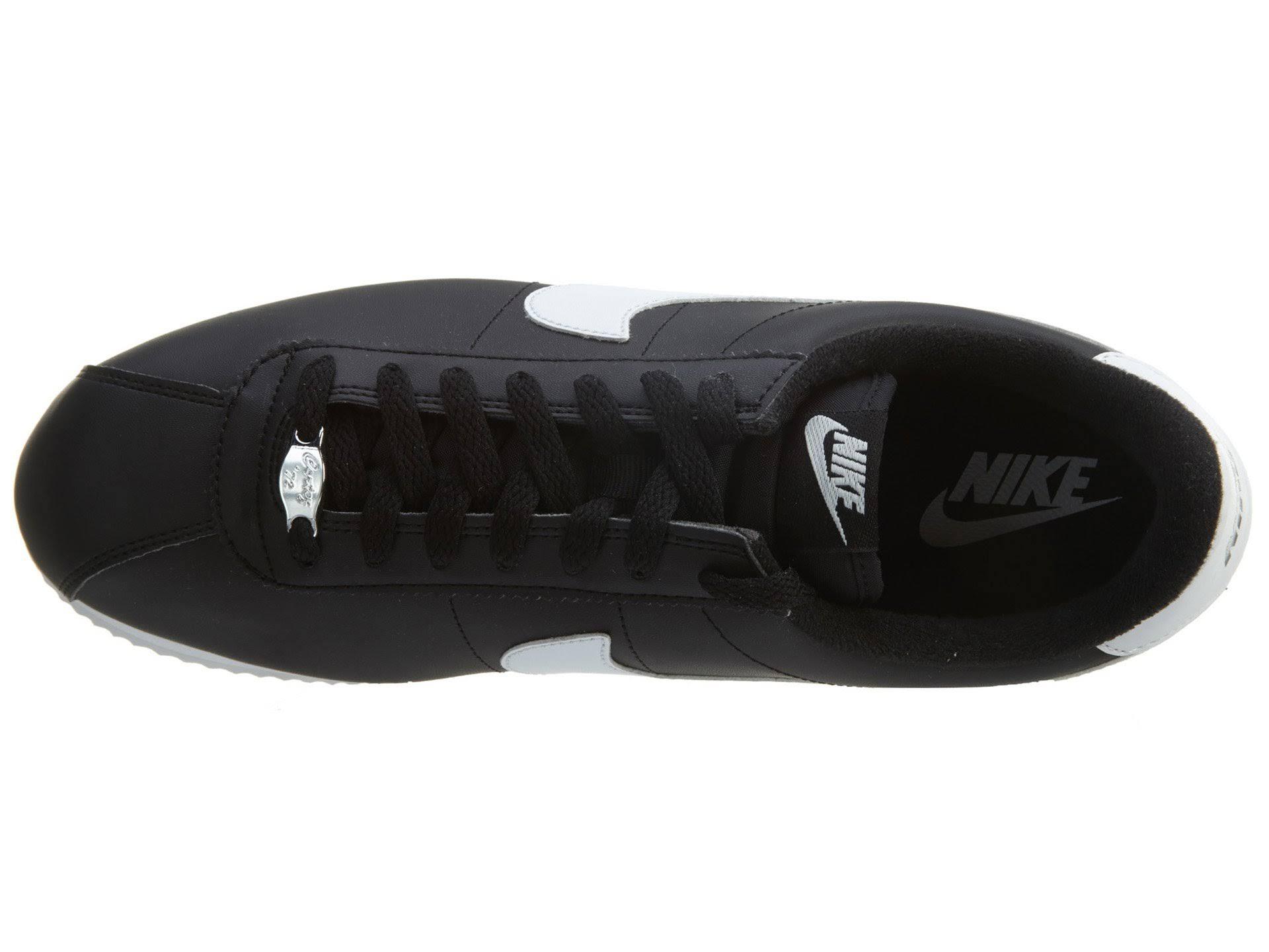 Hombre Negro Blanco Cortez 819719012 metálico Silv Zapatillas Plata Blanco Metálico Nike 7f1qp