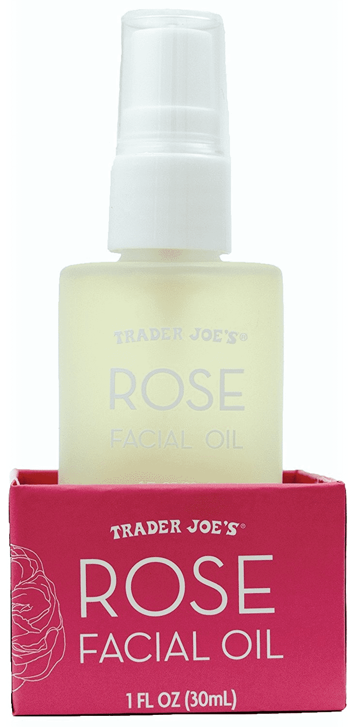 Rose Facial Oil with Moisturizing Rose Hip Botanical by Trader Joe's