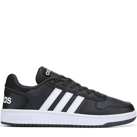 Hombre negro Hoops Para Carbono Zapatillas Adidas Negro Blanco Tamaño 7 M Blanco Low 0 c1qpHBWHxI