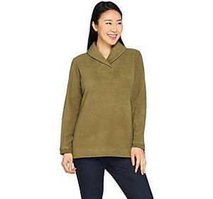 amp; Co Chenille Olive Fleece Deep Tamaño De Xx Cuello Camiseta Con Pequeño Manga Larga Denim Col d5RqAwEd