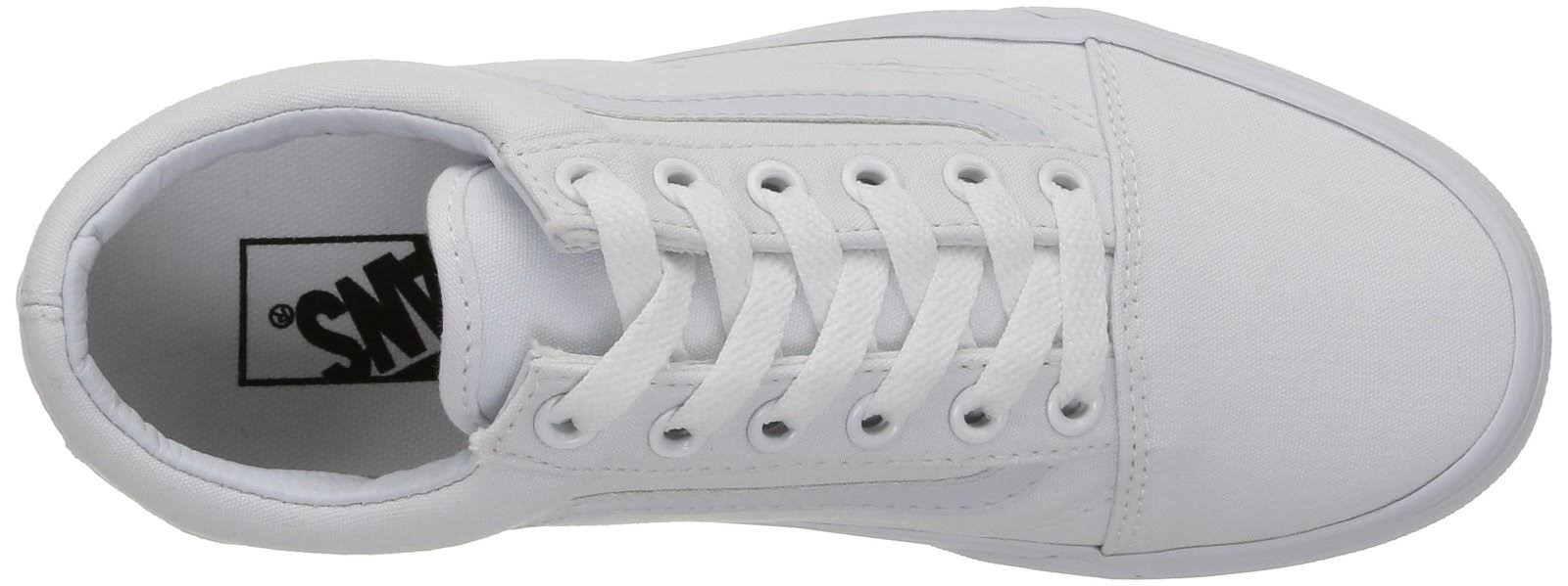 Vans Canvas verdadero Blanco Skool Old PnwPraxq