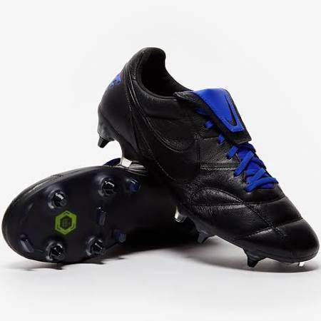 Nike Premier II SG Pro Anti Clog Black Racer Blue