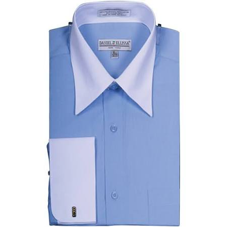 Tone Blau French Outlet Ntp Sunrise Cuff blu 225 Two Herren 3637 Modisches Shirt ds3006wt naOaXTISq