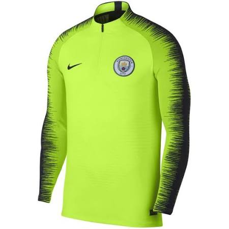 Manchester City De Vc Hombre Manga Fútbol Drill Strike Vaporknit Camiseta Amarillo Larga Para RPxgvgZq