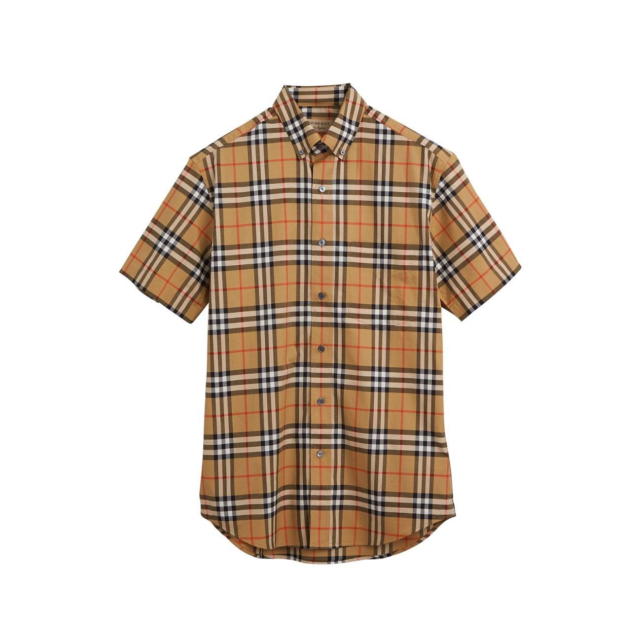 Xl M también Shirt Neutral L In Jameson Cuadros Tapered Talla A Burberry P8THn