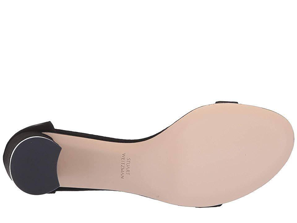 75lessnudist 5 Mujer De Negra Stuart W Natural Zapatos Gamuza Weitzman q07IxFqCw