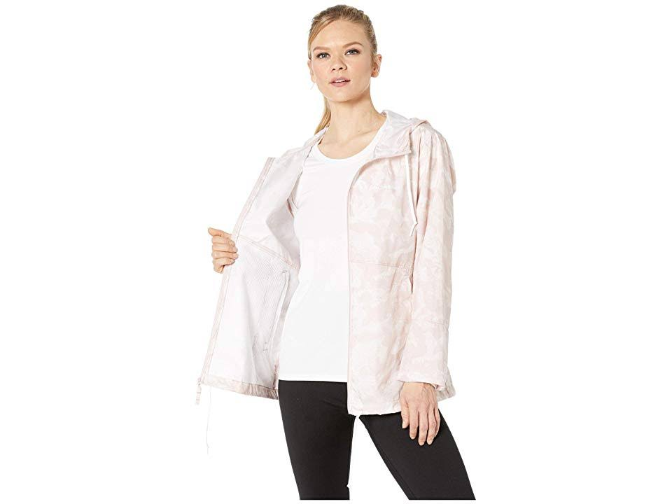 Forward Camuflaje Columbia Xs Para Flash Mineral Mujer Rosa Estampado Rompeviento nqHvPxw1n