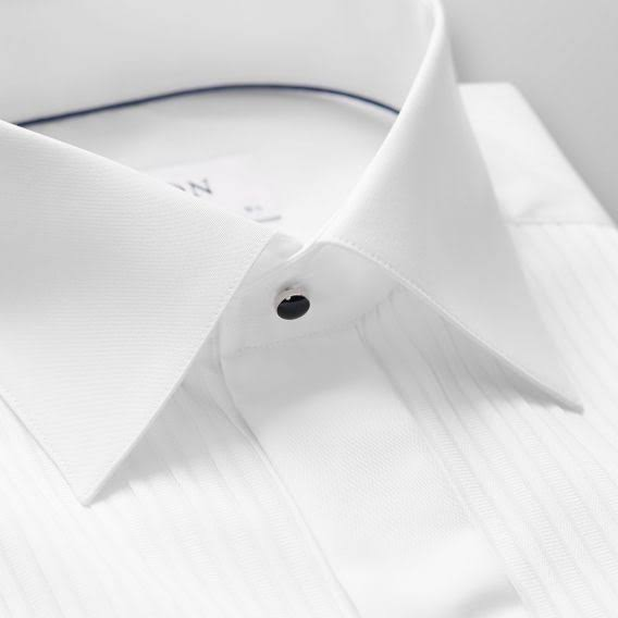 Eton Slim Weiß Männer Faltenhemd Formelles fit Hemd qBqSRw