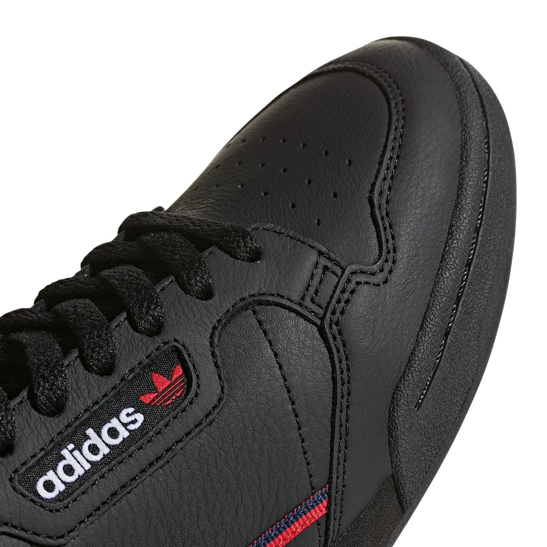 1 Größe Adidas Schwarz Continental 80 Rot Weiß 3 39 Originals Sneaker nn6pq4Aa