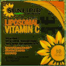 SunLipid リポソームビタミンC、天然香料使用、30袋、各5.0ml(0.17オンス)