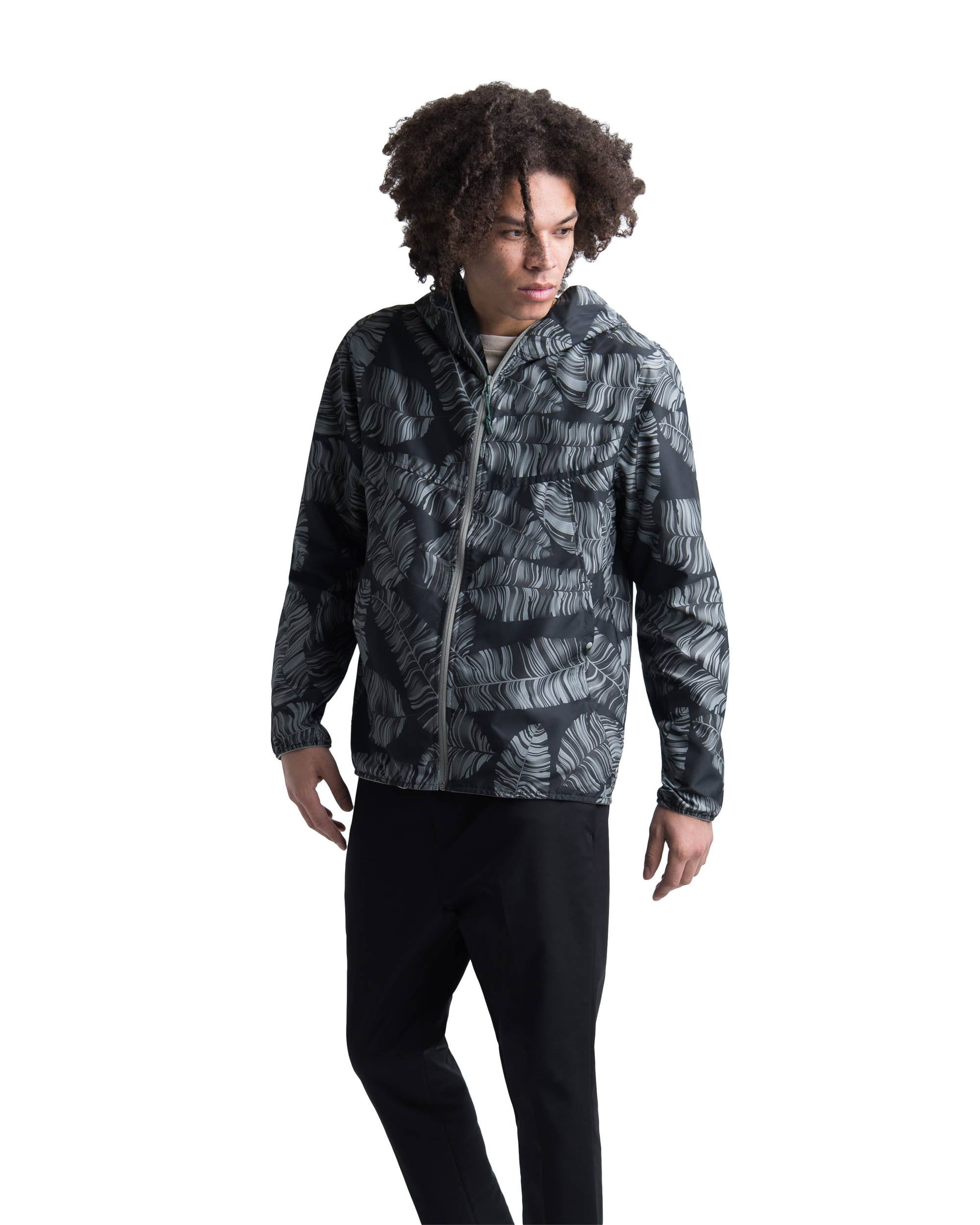 Supply Co Voyage Palm Herschel Xxl Jacket Wind Black FzqxCwWd7