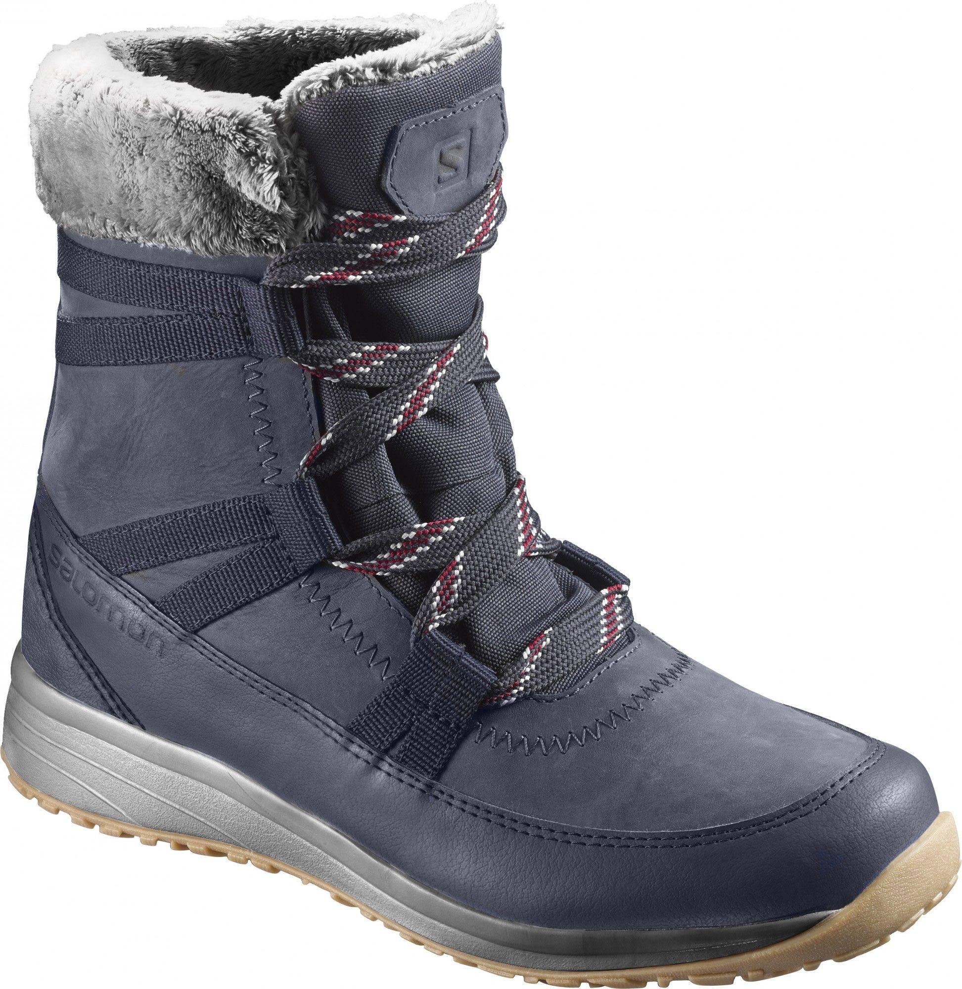 Waterproof Boots Eu 3 Color Womens size Winter Navy Beet 41 Leather Blue Red Cs Salomon Heika Red 1 Blazer CwzBxqRR