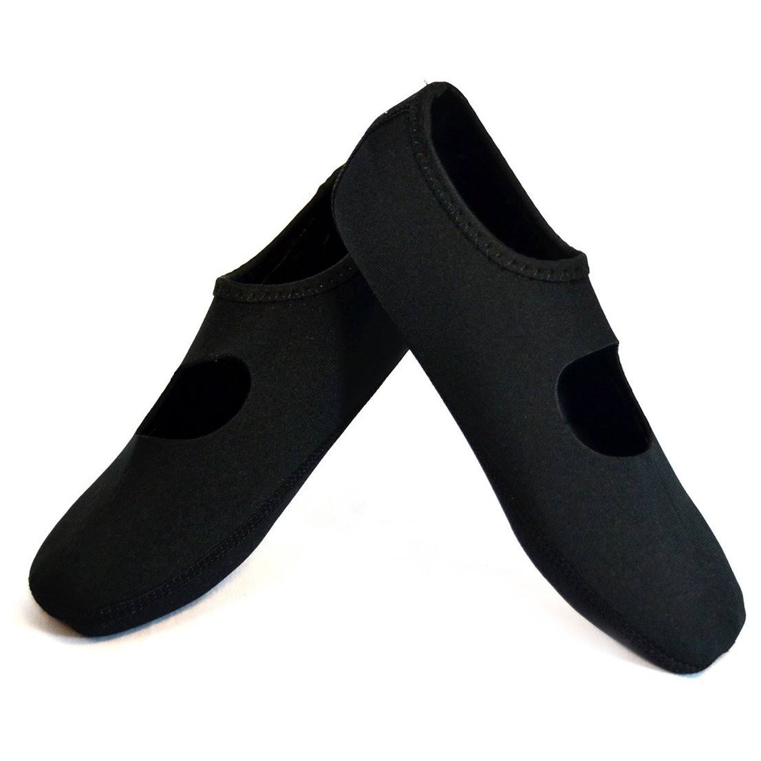 Dots Nufoot Flats Large Black Black Large Dots Nufoot ZuXTwlPkiO