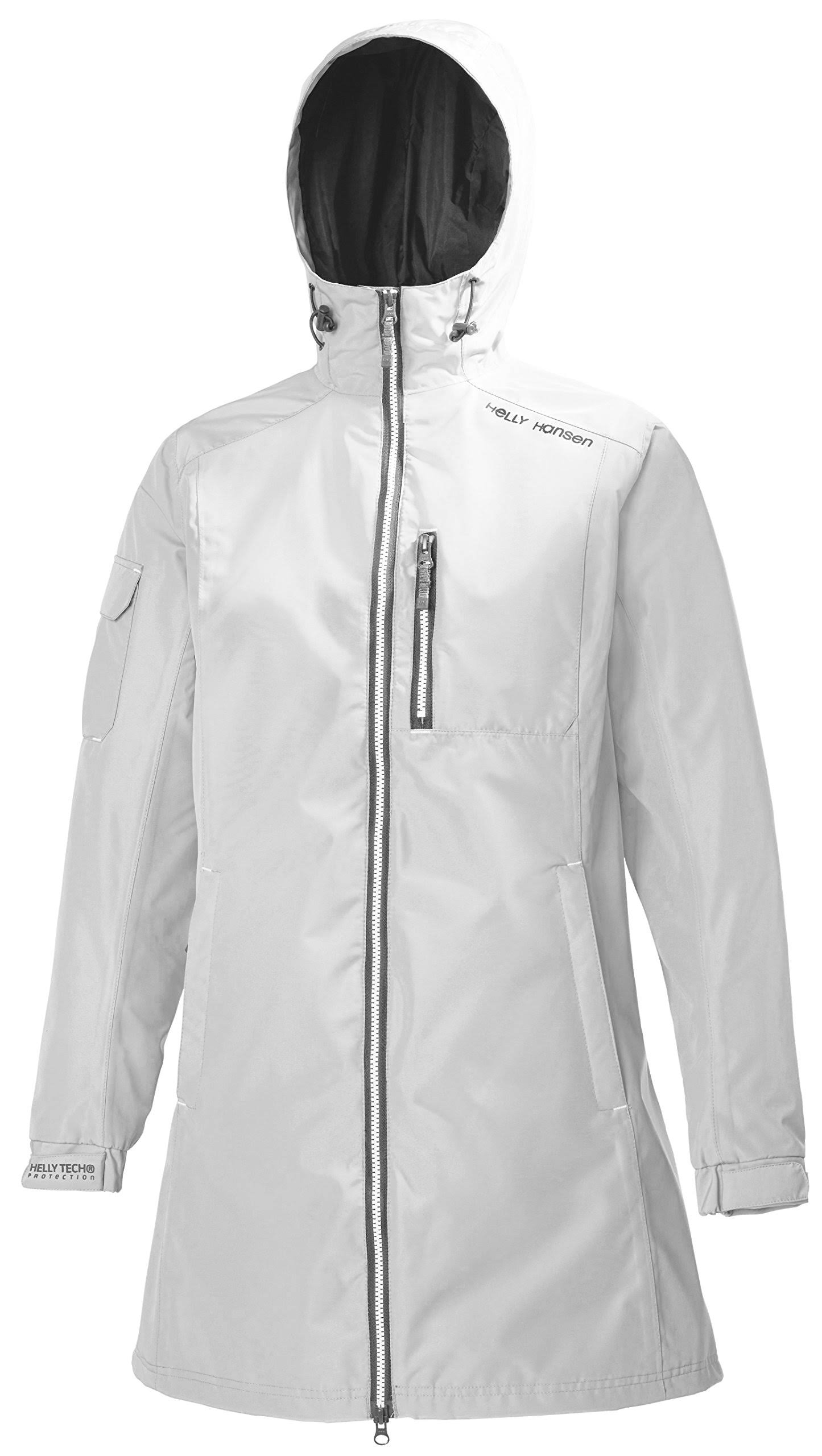 Mujer Long Blanca Belfast Hansen Chaqueta Helly M 7IqfxnwgE