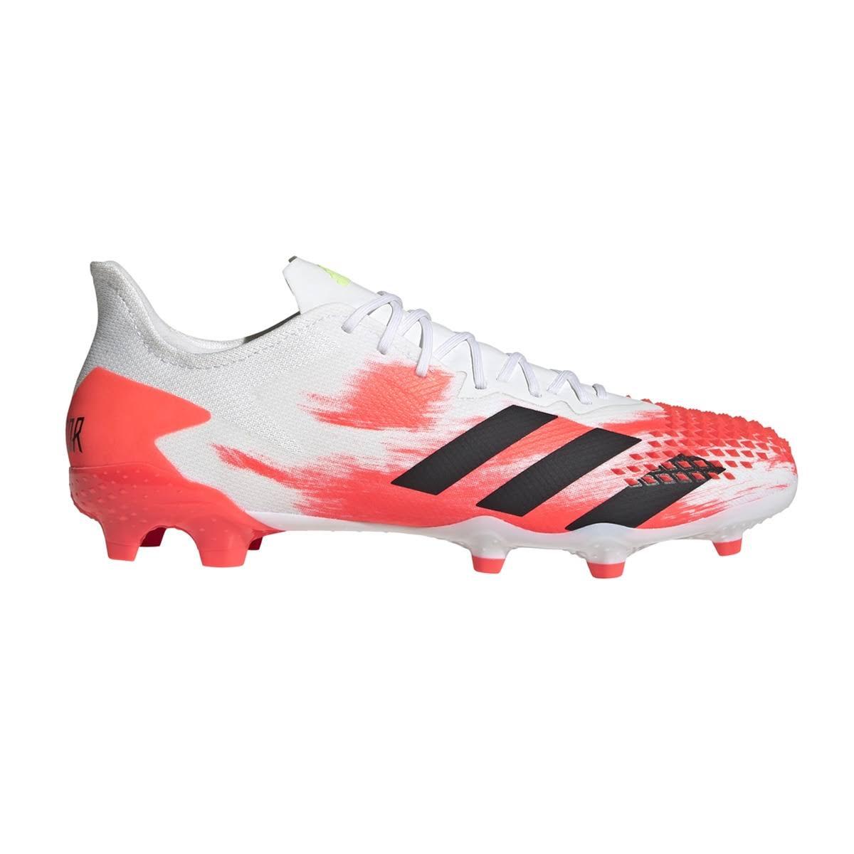 Adidas Predator 20.2 Firm Ground Boots Football - White