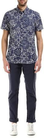 Hombres Woolrich amp; Camisa De Rich Paisley Los Bros John FFyW8qa