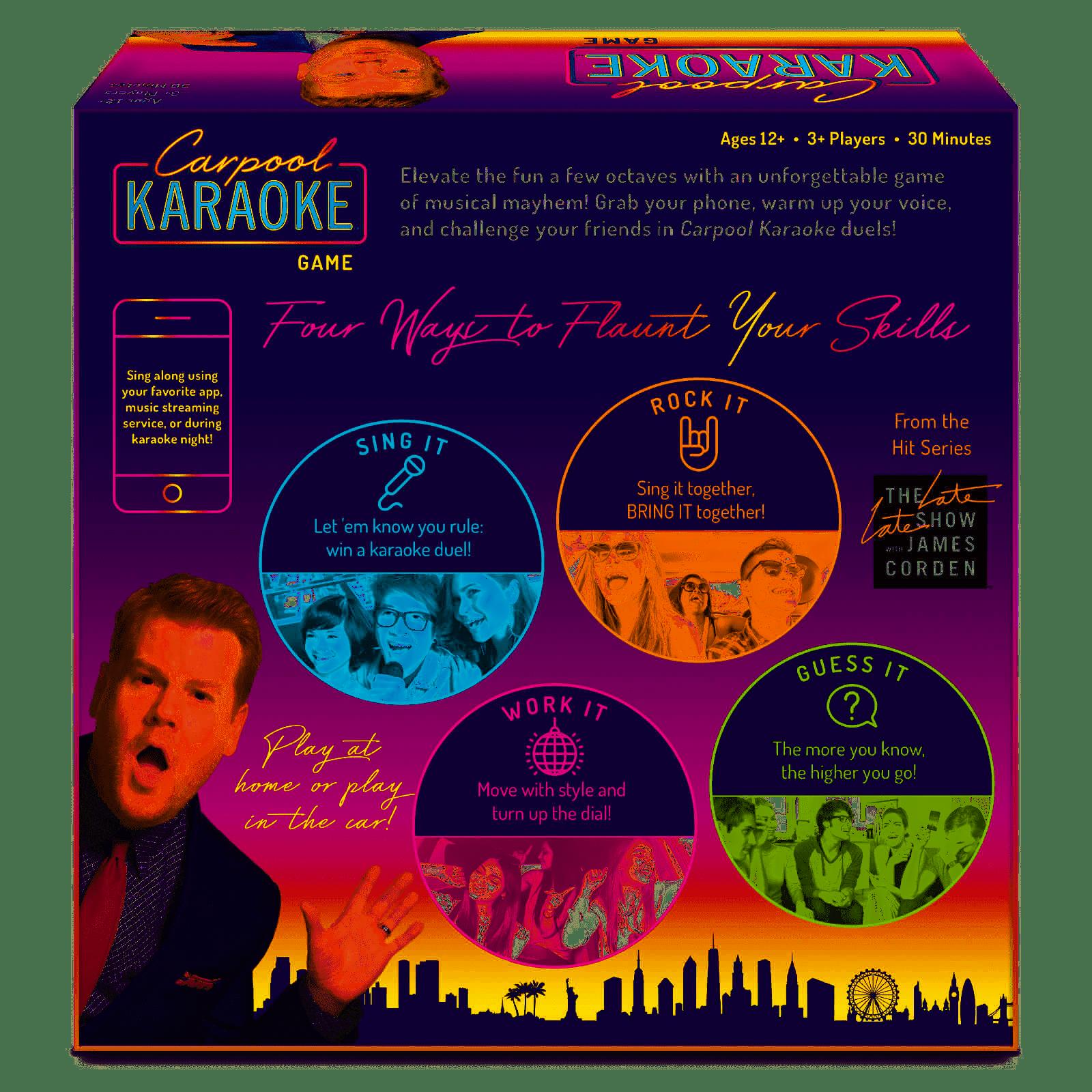 Big G Creative Carpool Karaoke Game